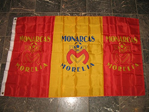 fan products of 3x5 Monarcas De Morelia Club Deportivo de Futbol Soccer Sport Polyester Flag 3'x5' Banner with Grommets