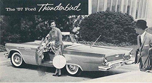 1957 Ford Thunderbird Tbird Brochure Reprint (Thunderbird Brochure)