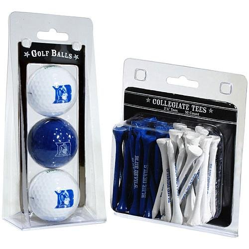 Duke Blue Devils Golf - Team Golf NCAA Duke Blue Devils Logo Imprinted Golf Balls (3 Count) & 2-3/4