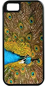 Design Sumsung Galaxy S4 I9500 Cover Blue Peacock DesiIdeal Gift