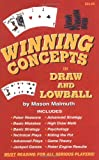 Winning Concepts in Draw and Lowball, Malmuth, Mason, 1880685078