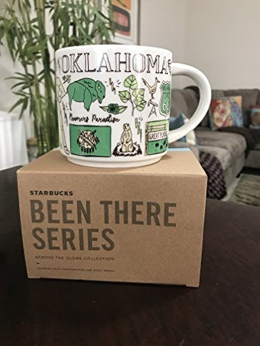 Starbucks OKLAHOMA 2018 Been There Series Ceramic Coffee Cup (Mug Coffee Oklahoma)