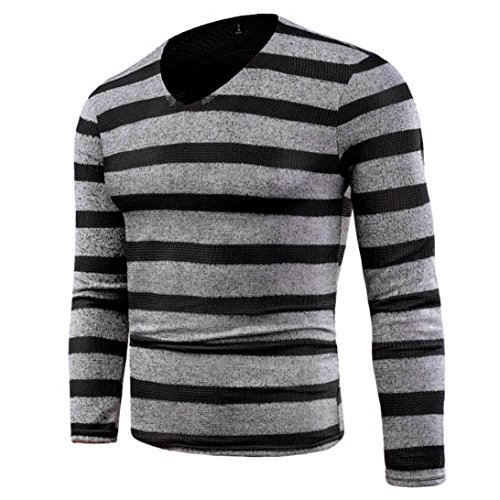 Forthery Men's ComfortSoft Long Sleeve V-Neck