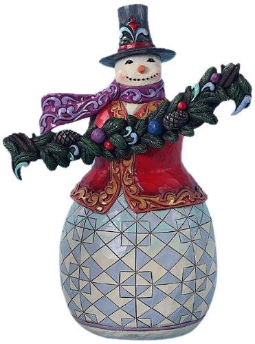 Enesco Evergreen Snowman 93 4Inch