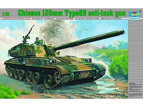 120 mm Maqueta de tanque chino tipo 89 Trumpeter 00306