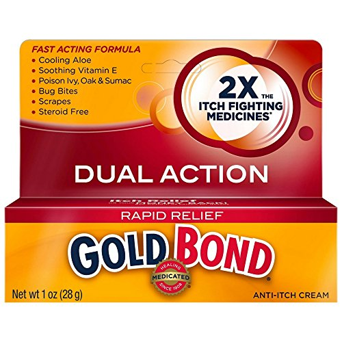 (Gold Bond Rapid Relief Anti-Itch Cream 1 oz)