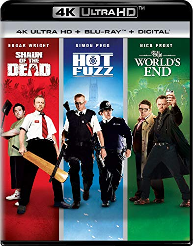 Shaun of the Dead / Hot Fuzz / The World's End Trilogy [Blu-ray]