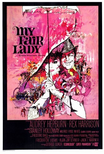 Amazon.com: My Fair Lady Póster de la película (27 x 40 ...