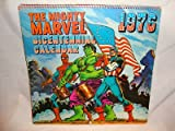 Marvel Comics Vintage the Mighty Marvel Bicentennial Calendar 1976 w/ Spider Man Incredible Hulk Captain America