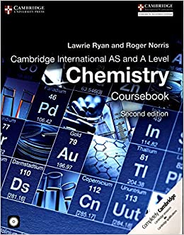 Book's Cover of Cambridge International AS and A Level Chemistry. Coursebook. Con CD-ROM (Cambridge International Examinations) (Inglés) Tapa blanda – 7 julio 2015