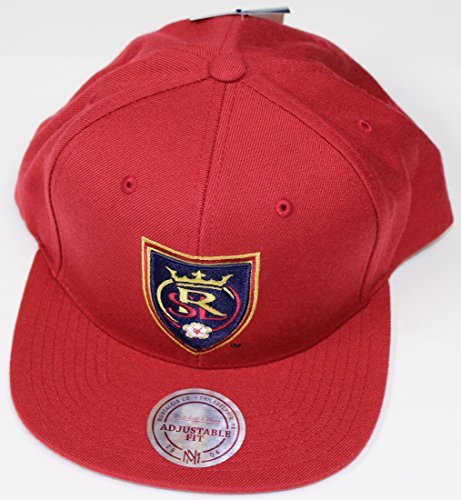 Real Salt Lake MLS Mitchell & Ness ''Team Solid'' Snap Back Hat by Mitchell & Ness