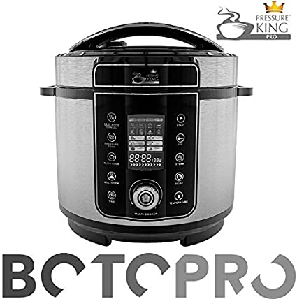 BOTOPRO - Pressure King Pro 6L, el Robot de Cocina 20 en 1. Incluye Gratis Cucharon y Recetario - Anunciado en TV: Amazon.es