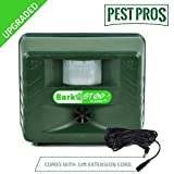 Aspectek Upgraded Bark Stop Pro, Bark Free Dog Silencer & Animal Pest Repeller, Ultrasonic Bark Deterrent