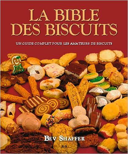 Livre gratuits La bible des biscuits pdf