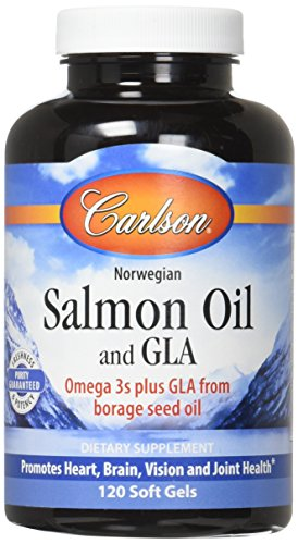 Carlson Salmon Oil And GLA, 120 ()