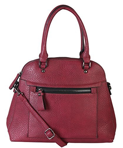 diophy-large-faux-pu-leather-tote-woman-business-shoulder-handbag-with-removable-strap-zd-2498-wine