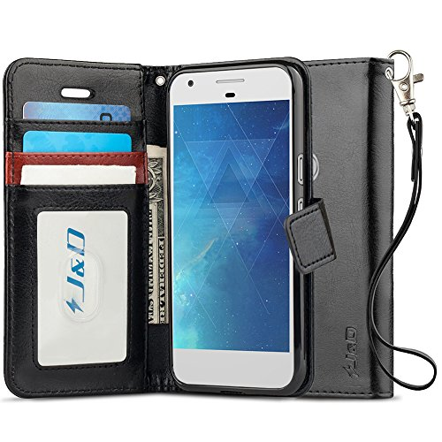 Google Pixel 2 Case, J&D [RFID Blocking Wallet]...