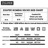 Zisuper Womens Ankle Socks 6 Pairs Athletic Low Cut Running Socks