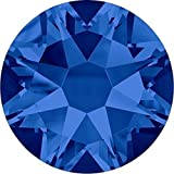 2000, 2058 & 2088 Swarovski Nail Art Gems Capri Blue | SS30 (6.4mm) - 288 Crystals (Wholesale) | Small & Wholesale Packs
