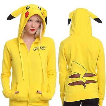 WQWQ Pokemon Hoodie Pikachu Suéter de Navidad Traje de ...