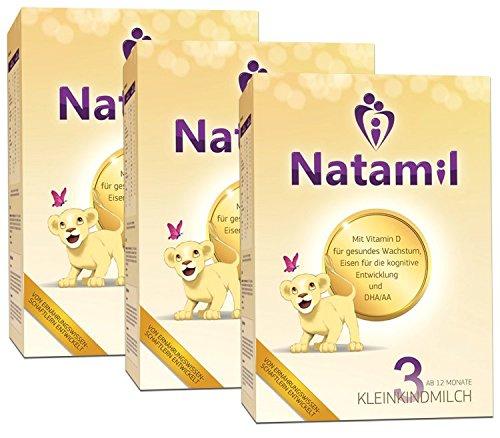 Natamil 3 Kleinkindmilch, ab 12 Monate, 3er Pack (3 x 800 g)