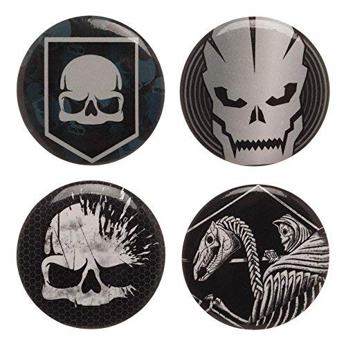 Call of Duty WWII Button Pin 4 Pack Set (Call of Duty)