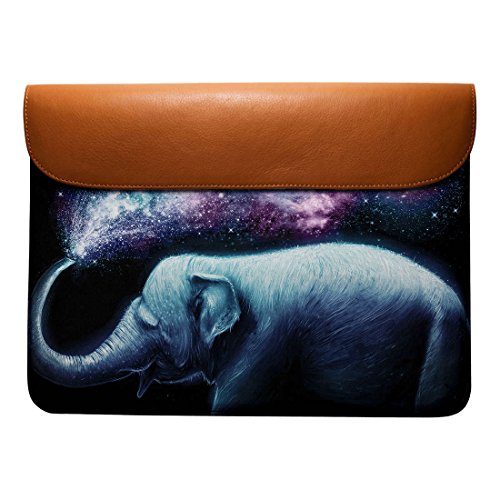 Air Real Leather 13 Elephant Splash For DailyObjects Envelope Pro Sleeve Macbook O8qEww4tx