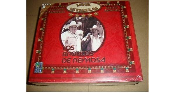 LOS BRONCOS DE REYNOSA SERIE ESTRELLAS 5CD - Los Broncos De Reynosa Serie Estrellas 5cd BOX SET - Amazon.com Music