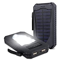 Foreverrise Solar Charger 15000mAh High ...