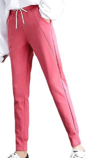 Keaac 女性ハーレムスポーツパンツジョガーパンツアクティブパンツジョガーパンツポケット付き