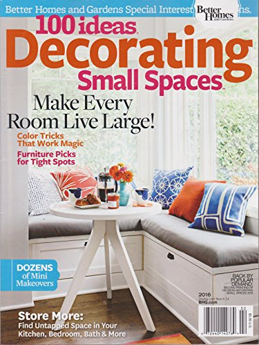 Ebook Small Space Decorating Better Homes And Gardens
