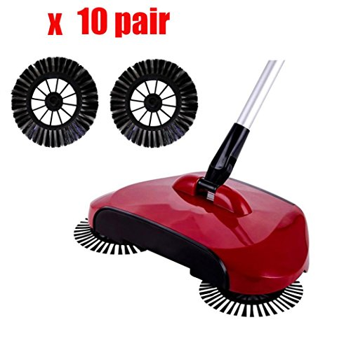 Creazy New Arrival Home Use Magic Manual Telescopic Floor Dust Sweeper Side Brush