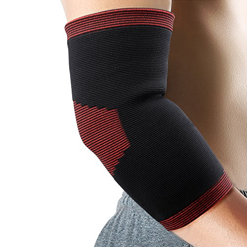 Sports Safety Generous 1pcs Adult Breathable Elbow Guard Safety Pressurized Bandage Outdoor Elbow Pads For Sport Basketball Fitness Elastic Arm Elbow Sports & Entertainment