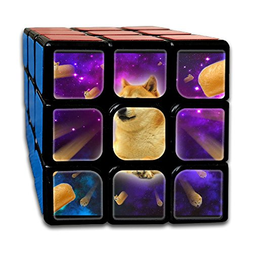 Shiba Inu Space 333 Super-durable Cube,Easy Turning And