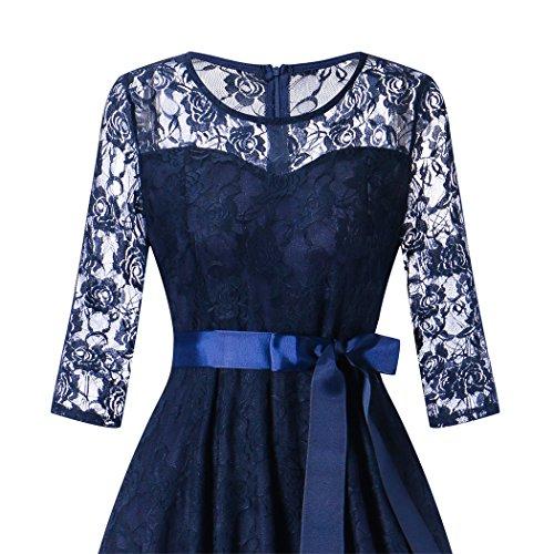 Swing kleid dunkelblau