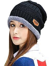 2b7bd0c8f66 Womens Slouchy Beanie Winter Hat Knit Warm Snow Ski Skull Cap
