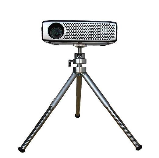 Micro proyector trípode, Soporte de proyección portátil Carga 1 kg ...