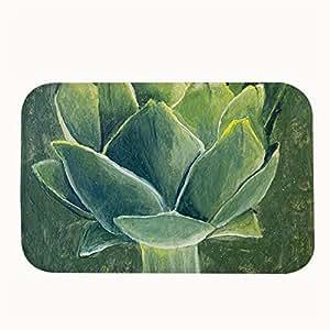 jesspad acrílico pintura de interior/al aire libre Felpudo alfombrillas de terciopelo un alcachofa Coral