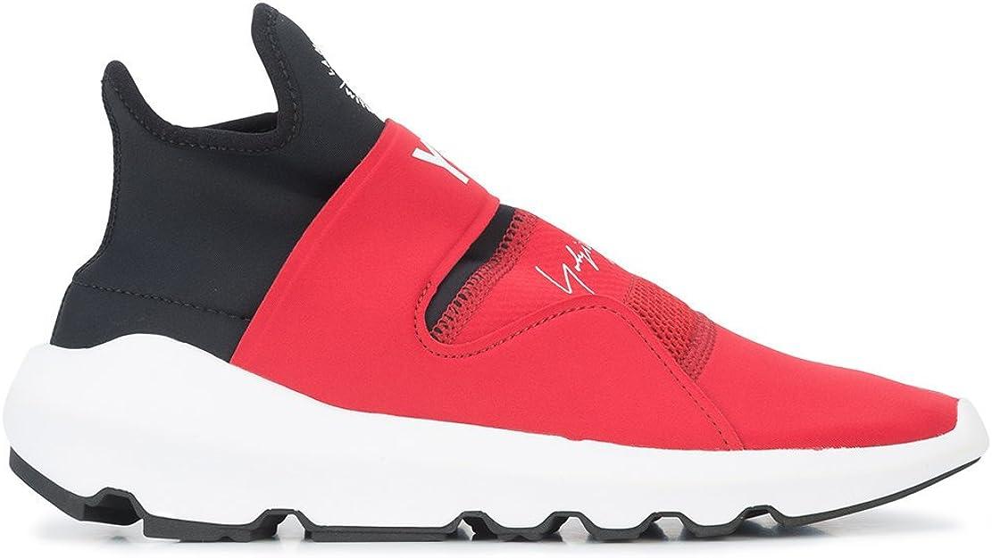 adidas Y 3 Yohji Yamamoto, Scarpe da Tennis Uomo NeroRosso
