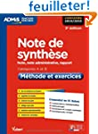 Note de synth�se - M�thode et exercic...
