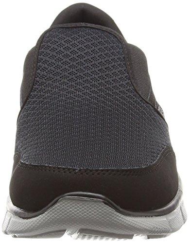 Skechers Equalizer Persistent, Zapatillas De Running, Niños Negro (Black)