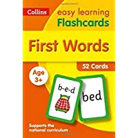 First Words Flashcards (Collins Easy Learning Preschool)