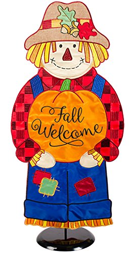 """Fall Scarecrow"" Porch Greeter"