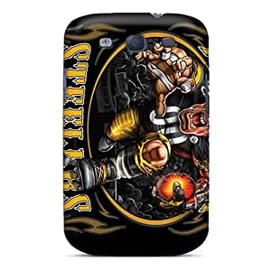 New Style Matties Hard Case Cover For Galaxy S3- Pittsburgh Steelers