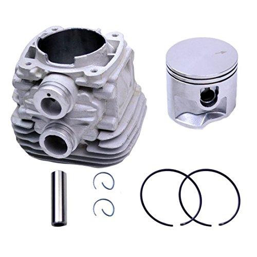 Woniu 50mm Cylinder Head Piston Kit for Stihl TS410 TS420 Cut Off Saws Replace 4238 020 1202 ()
