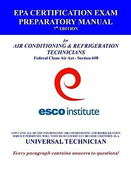Esco Institute Section 608 Certification Exam Preparatory