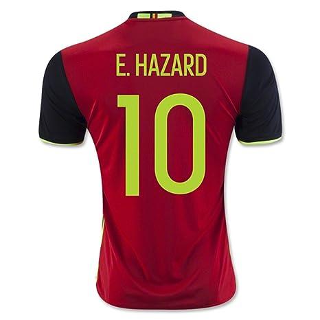 Generic 2016 2017 Bélgica 10 Eden Hazard Home Jersey de ...