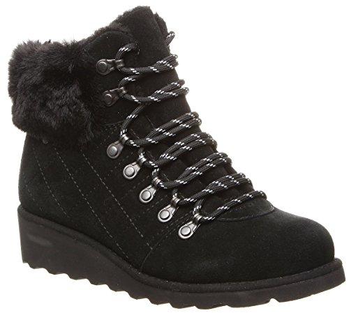 BEARPAW Women's Janae Boot Black II Size 8 B(M) US ()