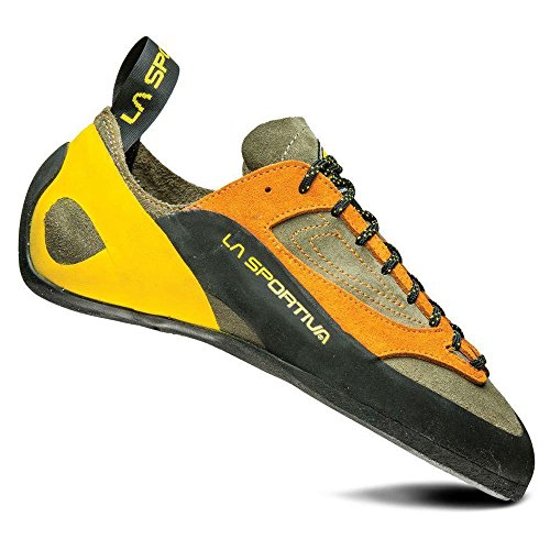 La Sportiva Finale Climbing Shoe, Brown/Orange, 44.5