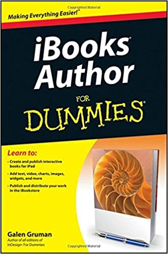 iBooks Author For Dummies by Galen Gruman (2012-05-29)